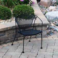 wrought iron patio set menards