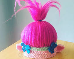 Trolls Crochet Hat Pattern Best Troll Hat Troll Hair Crochet Pattern Troll Hair Hat Troll