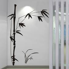 bamboo wall art