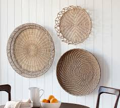 Shop items you love at overstock, with free shipping on everything* and easy returns. Jasper Natural Rattan Basket Wall Art Wall Decor Pottery Barn