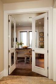 home office doors. Example Of A Classic Home Office Design In Denver Doors O