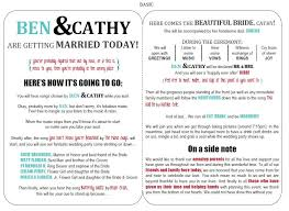 Wedding Ceremony Brochure Wedding Ceremony Brochure Templates 71 Free Wedding Program