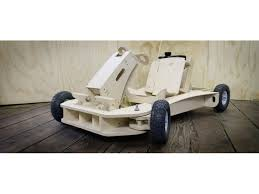 newport company creates wooden go kart you can build in one day 0