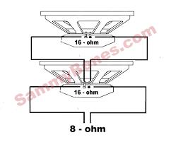 wiring diagram for speakers wiring diagram schematics 2 speaker 8 ohm wiring diagram