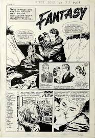 Ray Bailey First Love Illustrated 73 Complete 5 Page Story Lot