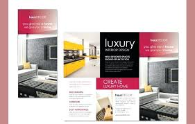 Brochure Samples Decoration Samples Interior Design Brochure Samples Interior Design