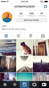 instagram profile iphone.  Iphone Instagram 42 For IOS IPhone Screenshot 004 Intended Profile Iphone G