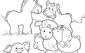 Farm Coloring Pages Free Farm Animal Coloring Pages To Print Free