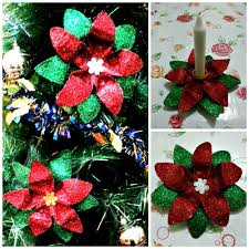 Christmas Decorations Made Out Of Plastic Bottles DIY 10000 POINSETTIA 10000 in 100 MADE OF PLASTIC BOTTLE YouTube 2