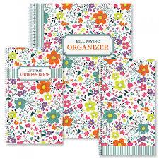 Rainbow Daisies Organizer Books Colorful Images
