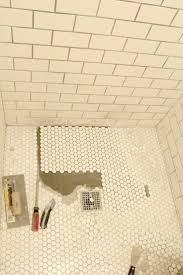 the grit and polish bathroom shower floor re tile