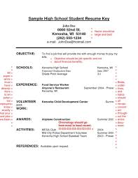 034 Resume For High School Students With No Experience Fresh