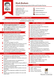 Latest Resume Format Best Business Template