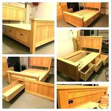 high storage bed frame – vidaysalud.info