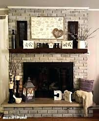 interior brick fireplace mantel decor design ideas clever 2 red decorating cl brick fireplace designs decor stunning mantel