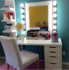 cool makeup vanity ideas. Glamorous ProfessionalStyle Vanity With Storage Drawers Throughout Cool Makeup Ideas