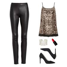 leather legging outfit