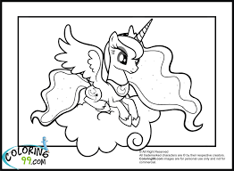 Small Picture My Little Pony Princess Luna By Coloring Book Coloring Pages