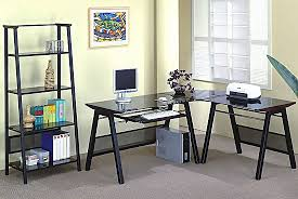 coaster shape home office computer desk. Beautiful Shape Contemporary LShaped Home Office Set For Coaster Shape Computer Desk H