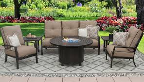 quincy aluminum outdoor patio 6pc sofa 2 club chairs 2 end tables