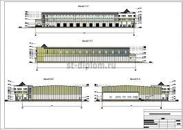 Реализация инвестиционного проекта строительства складского  2 Фасады
