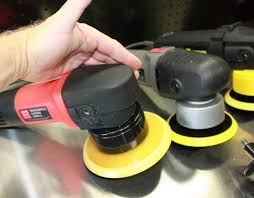 porter cable random orbital polisher. with the bail handle removed from porter cable da polisher your hand fits comfortably over plastic housing cover head of polisher. random orbital