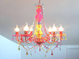 45 inspirations of colored chandeliers