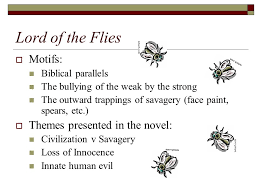 lord of the flies william golding ppt video online  9 lord of the flies motifs