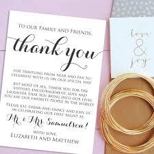 Free Printable Wedding Thank You Cards Templates Vastuuonminun