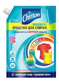Купить <b>Гель</b> для стирки Chirton для <b>цветного</b> белья, 1 л с ...