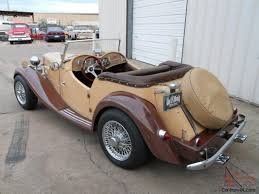mg td replica factory built by allison in 1980 offered by gas 1952 mg td replica factory built by allison in 1980 offered by gas monkey garage