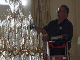 one other image of chandelier cleansing service