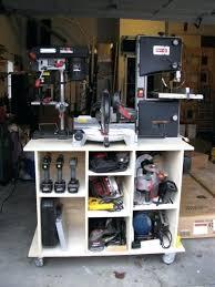 mobile power tool storage cart diy garden ideas