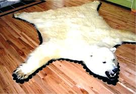 faux bear skin rugs bear rug fake photo 1 of 3 polar bear rug faux faux