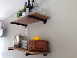 Kitchen Shelf Decorating Furniture Useful Kitchen Shelves Decorating Ideas Open Shelf