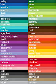 Red Colour Chart Paper Darling Girl Paper Colour Options