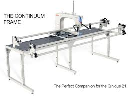 Grace Continuum 8' Machine Quilting Frame at AllBrands.com & The new Continuum Quilting Frame has been designed by the Grace Company to  perfectly accommodate the Q'nique 21 machine. With steel and cast-alloy ... Adamdwight.com