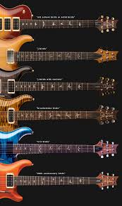 Fret Inlay Designs The Story Of The Prs Bird Inlays