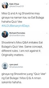Showbiz Wedge How Did Quiz Vee And Miss Q A Impact Viewers