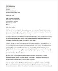 finance cover 9 finance cover letters free sample example format download