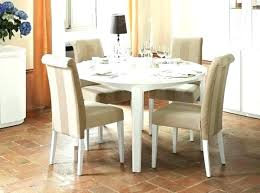 small round dining table set round white kitchen table astounding round white gloss dining table within