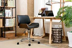 Modern wooden home office furniture design Design Ideas Porthos Home Kch019a Blk Dove Office Chairs In Midcentury Modern Design With Leather Upholstery Amazoncom Amazoncom Porthos Home Kch019a Blk Dove Office Chairs In Mid