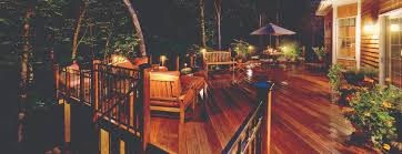 outdoor deck lighting. our deck lights reveal the wood grain and define this beautiful outdoor lighting