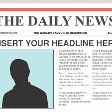 Fresh Newspaper Article Format Template Audiopinions