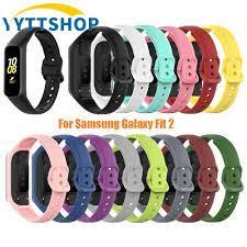 Dây Đeo Thay Thế Chất Liệu Silicon Cho Đồng Hồ Thông Minh Samsung Galaxy Fit  2 / Sm-R220 giá cạnh tranh