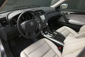 acura tlx 2008 interior. the interior is typical acura u201ctechyu201d with neutral colors lots of buttons dark metal trim and an arching center console as focal point tlx 2008