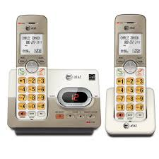 2 handset cordless answering system with caller id call waiting