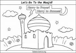 Colouring Pages For Muslim Kids Islamic Comics