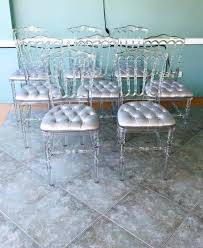 ghost chairs with seat cushions. image may contain: table and indoor ghost chairs with seat cushions d