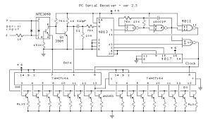 christmas light pc serial port receiver